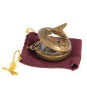 Sundial Compass Brass Antique