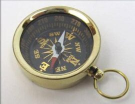 Brass Pocket Size Compass