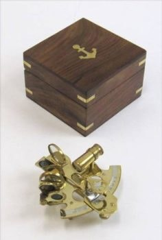 Sextant in Wood Box