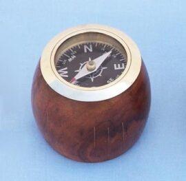 Compass on Barrel Shape