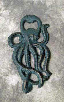 Verdigris Octopus Bottle Opener