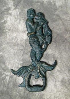 Mermaid and Merman Bottle Opener