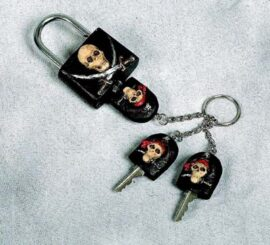 Pirate Lock and Keys