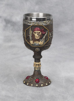 Pirate Skull Goblet