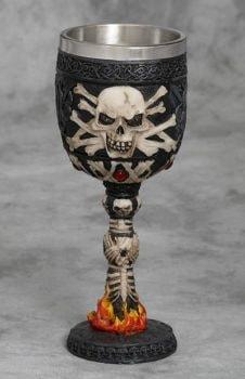 Skull and Bones Goblet