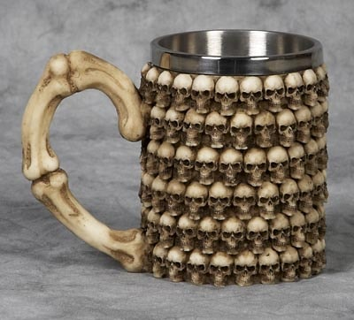 Skulls Drinking Mug