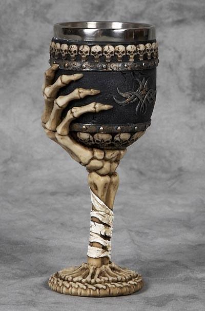 Skeleton Hand Goblet
