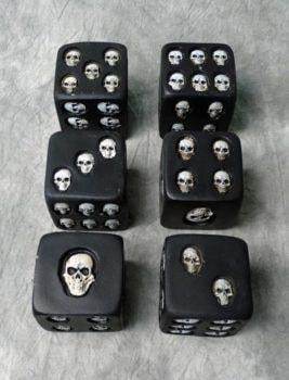 Die with Skulls