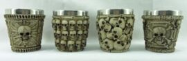 Assorted Skull and Bone Shot Glass