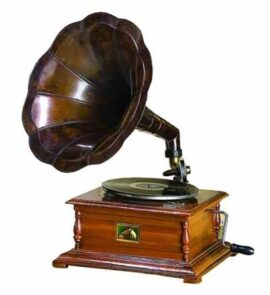 Antique Reproduction Gramophone