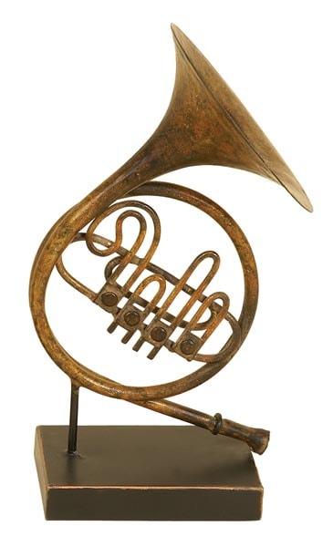 French Horn on Stand