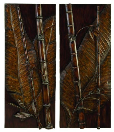 Exceptional Assorted Bamboo Wall Art Panel