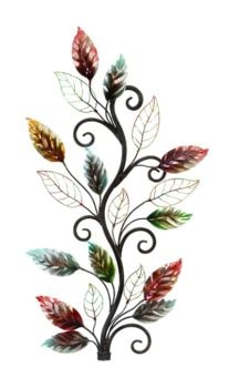 Colored Leaves Wall Decoration