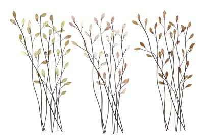 Assorted Branches Wall Decor