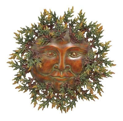 Green Man Wall Decoration