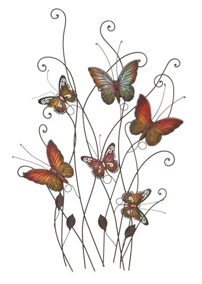 Butterfly Garden Wall Decor