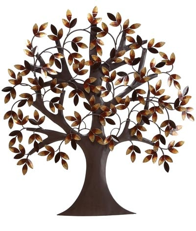 Metal Wall Tree Art