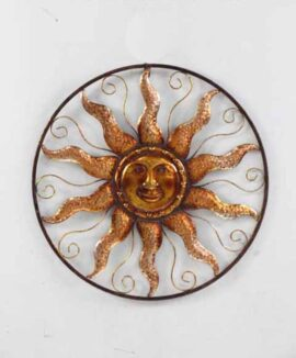 Metal Sun in Circle ETA 8/1/16