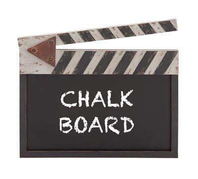 Director's Clapboard Chalkboard