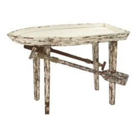 Rustic Wooden Boat Table
