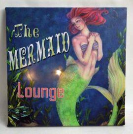 LED Canvas Mermaid Lounge