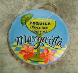 Margarita Metal Bottle Cap