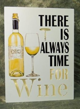 LED Time for Wine Sign