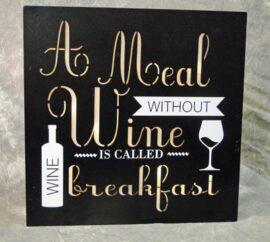 Funny LED Wine Sign