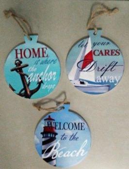 Assorted Coastal Ornament