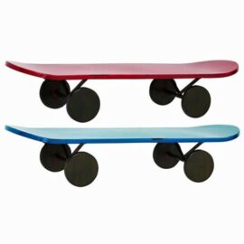 Assorted Metal Skate Board Shelf