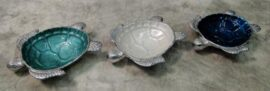 Assorted Aluminum Turtle Bowl