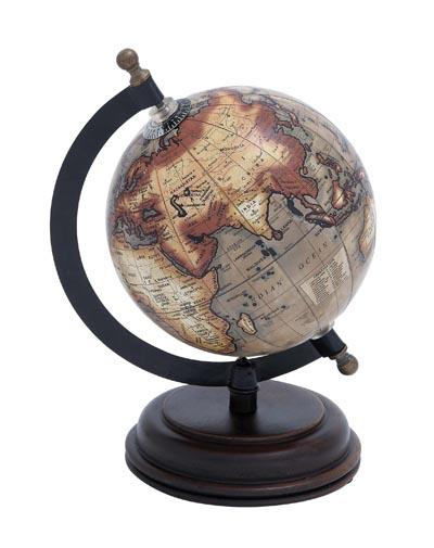 decorative antique style globe - Decorative Globe