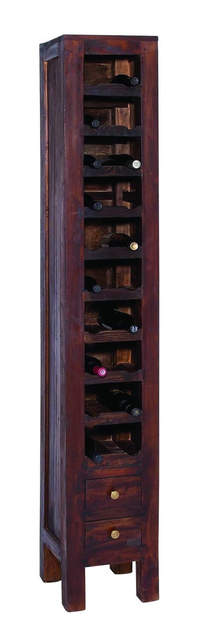 Tall Wooden Wine Cabinet Globe Imports