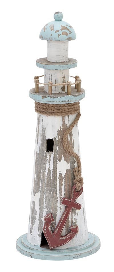 Rustic Wooden Lighthouse