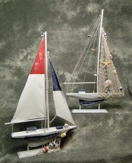 Assorted Weathered Model Sailboat