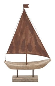 Rustic Decorative Sailboat
