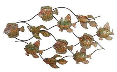 Metal Wall Fish