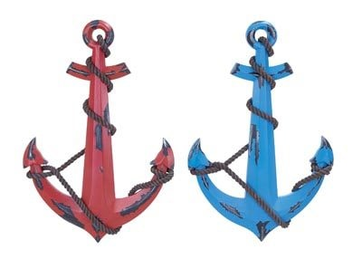 Assorted Weathered Nautical Anchor