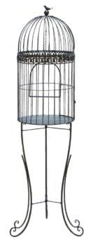 Decorative Bird Cage Planter