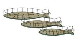 Set of Three Fish Trays