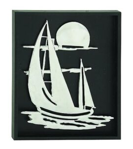 Sailboat Shadowbox Wall Art