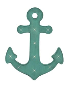 Metal Anchor with LED Lights