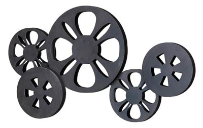 Movie Reels Wall Decoration