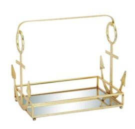 Metal and Mirror Anchor Tray
