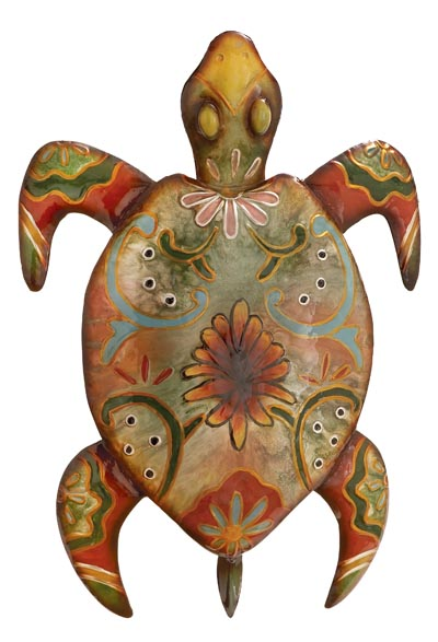 Painted Turtle Wall Decor