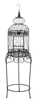 Decorative Bird Cage Planter