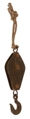 Decorative Antique Reproduction Pulley