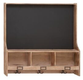 Old Fashioned Chalkboard and Shelf
