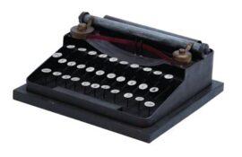 Decorative Reproduction Typewriter