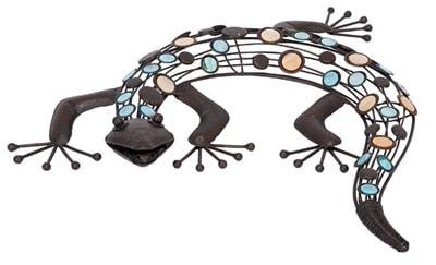 Artistic Metal Lizard